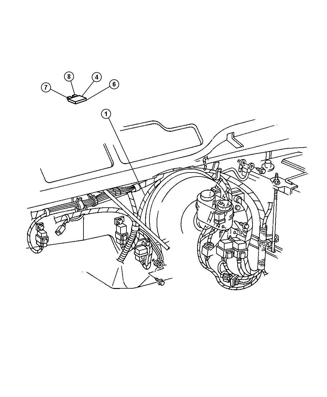 Jeep Grand Cherokee Relay Relay Package Radiator