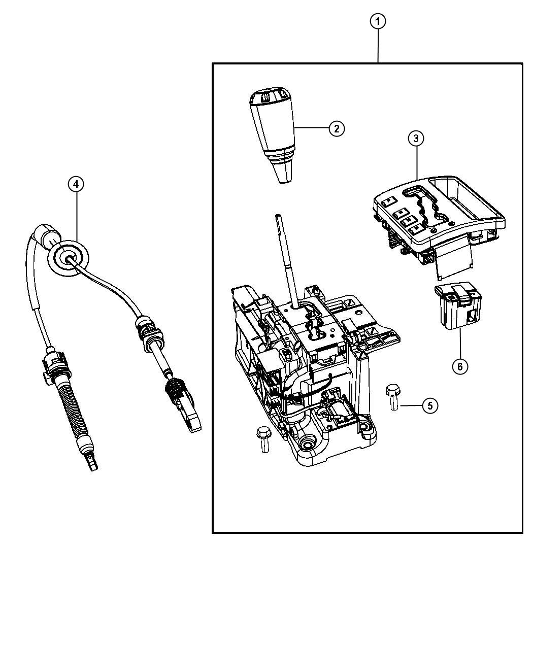 Jeep Grand Cherokee Used For Housing And Lever Shifter