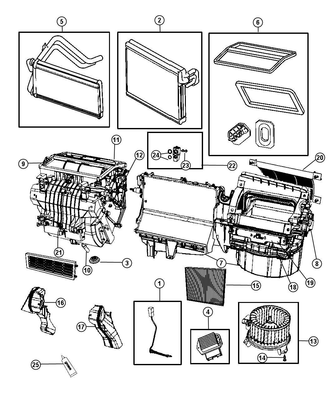 Auto Air Conditioning Diagram