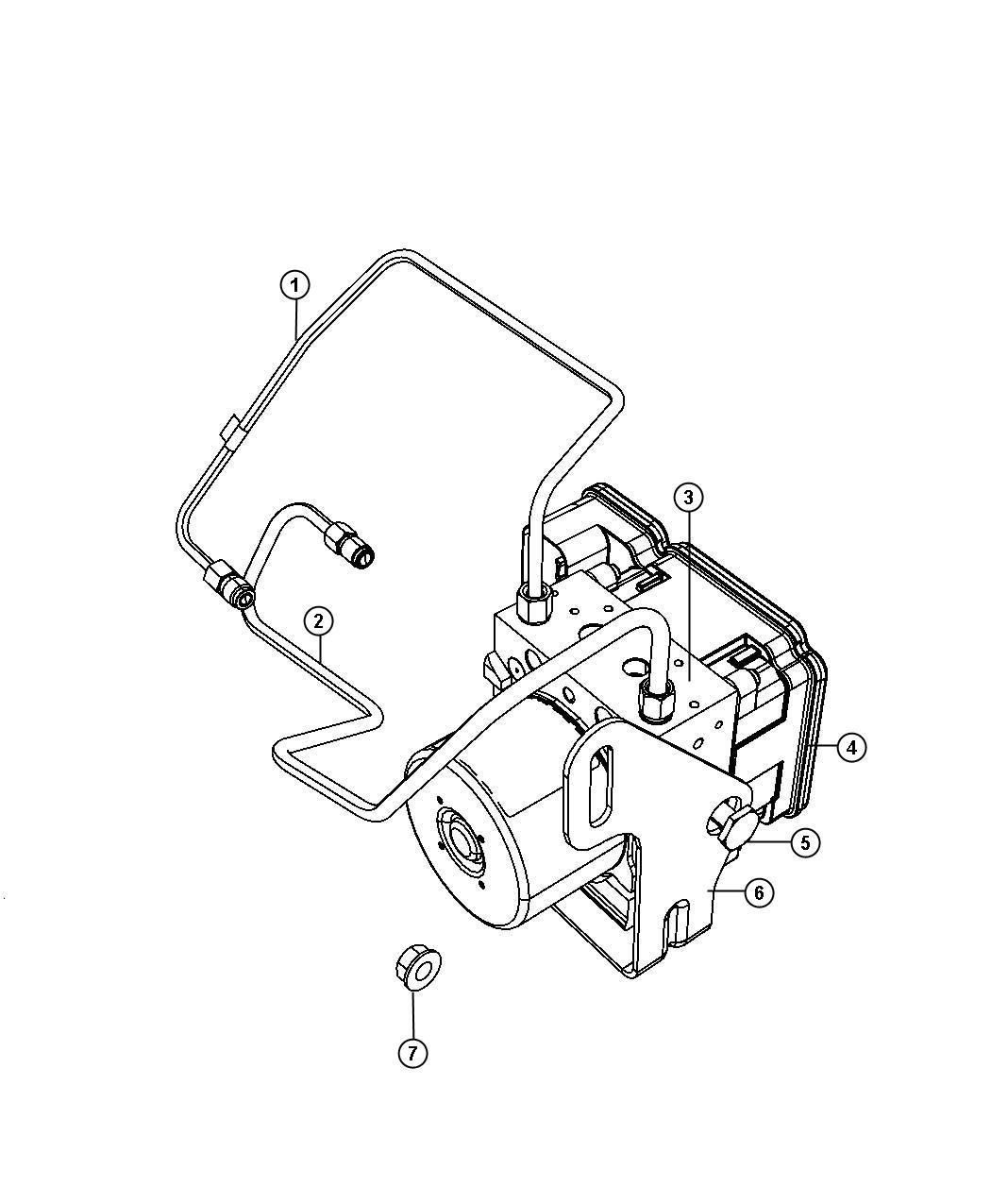 Master Cylinder Diagram For Jeep
