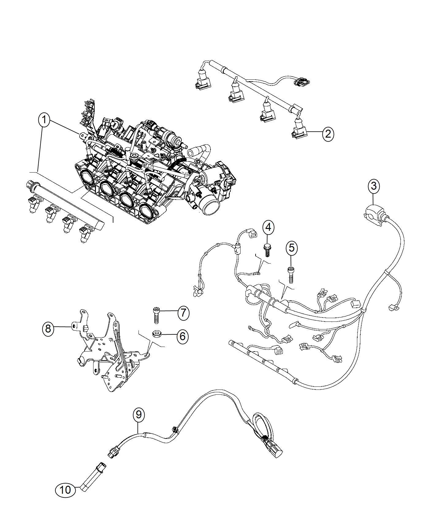 Jeep Renegade Heater Engine Engine Block Canada
