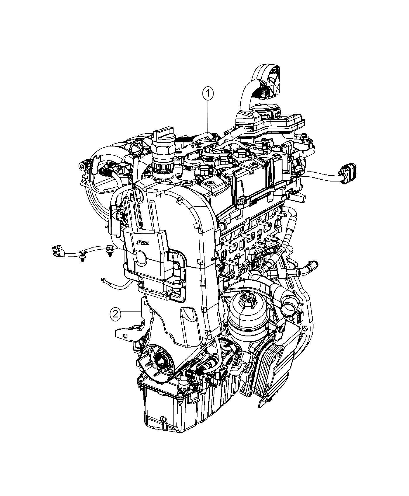 Jeep Engine Oil 5w40 Quart Mds Service Filter