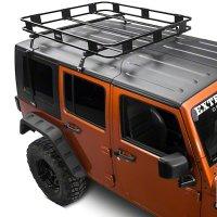 Roof Mounted Basket Rack Jeep Wrangler 2007-2017 ( 2 or 4 Door)