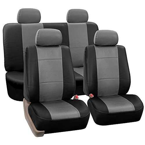 4pcs Back Cover,5pcs Headrest Cover KUST zd31941w Car seat Covers,Custom Fit Seat Covers Fit for Jeep Cherokee 2014 2015 2016 2017,Pack of Leather Auto Seat Covers for SUV Full Set 4pcs Saddle Cover