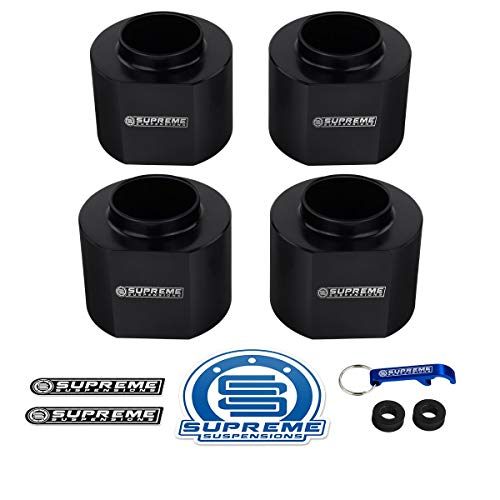 Supreme Suspensions 1997-2006 Jeep Wrangler TJ Leveling Kit 1.5 Inch Front High-Crystalline Delrin Spring Spacers 2WD 4WD PRO