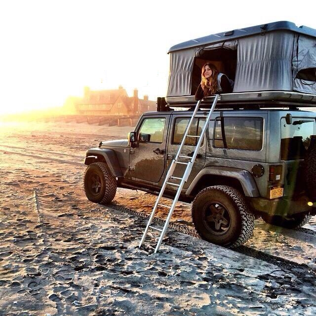 Jeep Roof Top Tent Fun & Jeep camping with rooftop tents | Jeep Wrangler Outpost