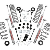 Rough Country 637 - 2.5-inch Premium Suspension Lift Kit with Performance 2.2 Series Shocks