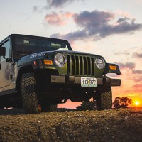 "'04 Jeep Wrangler ""Willys"" Edition at Sunset"