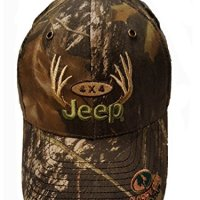Jeep Antlers 4x4 Camouflage Cap