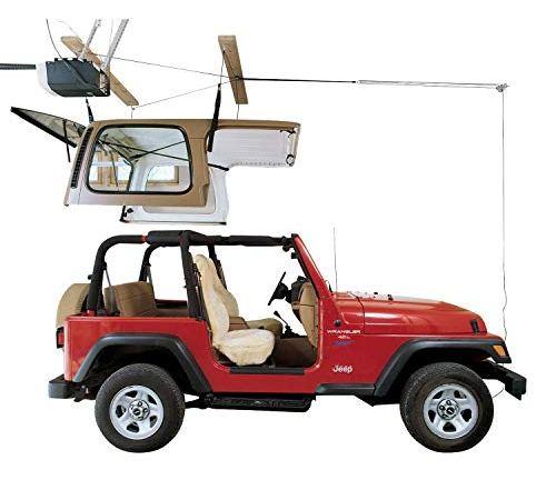 HARKEN Jeep Hardtop Garage Storage Ceiling Hoist   4 Point