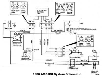 1985 jeep cj7 alternator wiring  f53 wiring diagram battery