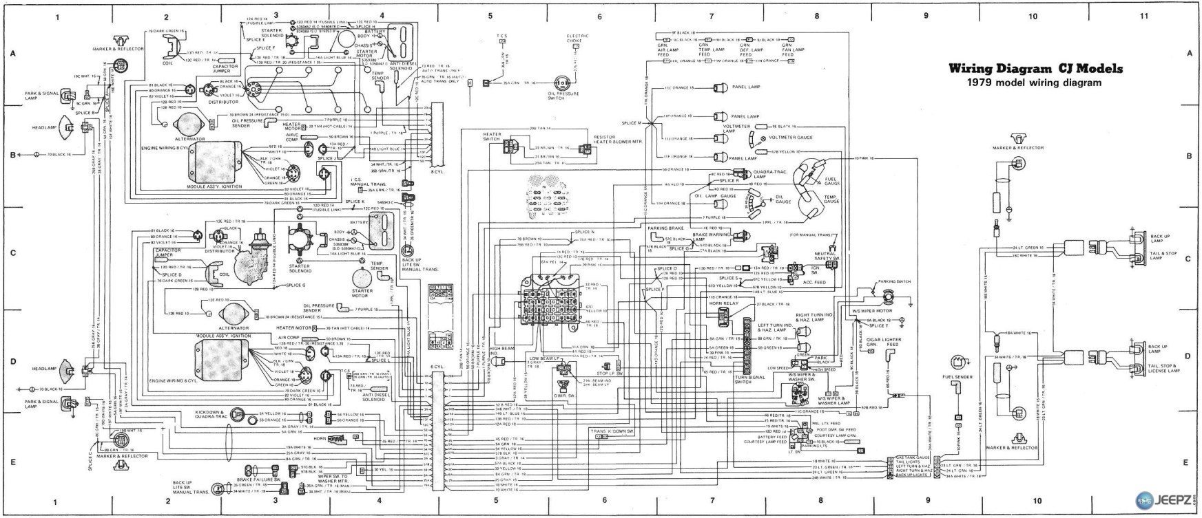 cj wiring diagram wiring diagram ignition wiring diagram for 1985 jeep cj7 image