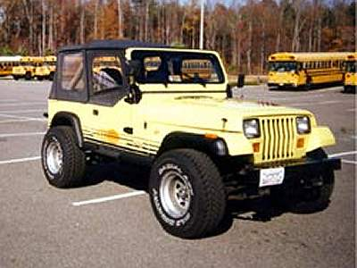 Why I Wanted To Paint The Jeep