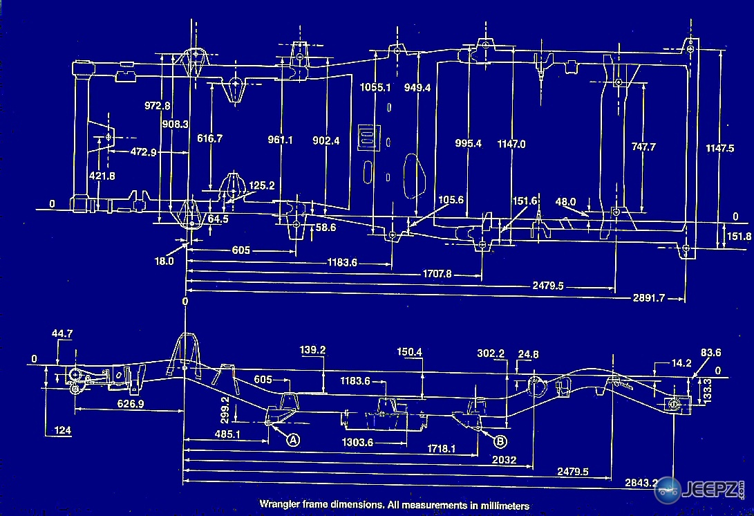 Jeep Wrangler Frame Diagram Trusted Wiring Manifold Yj Schematic Diagrams