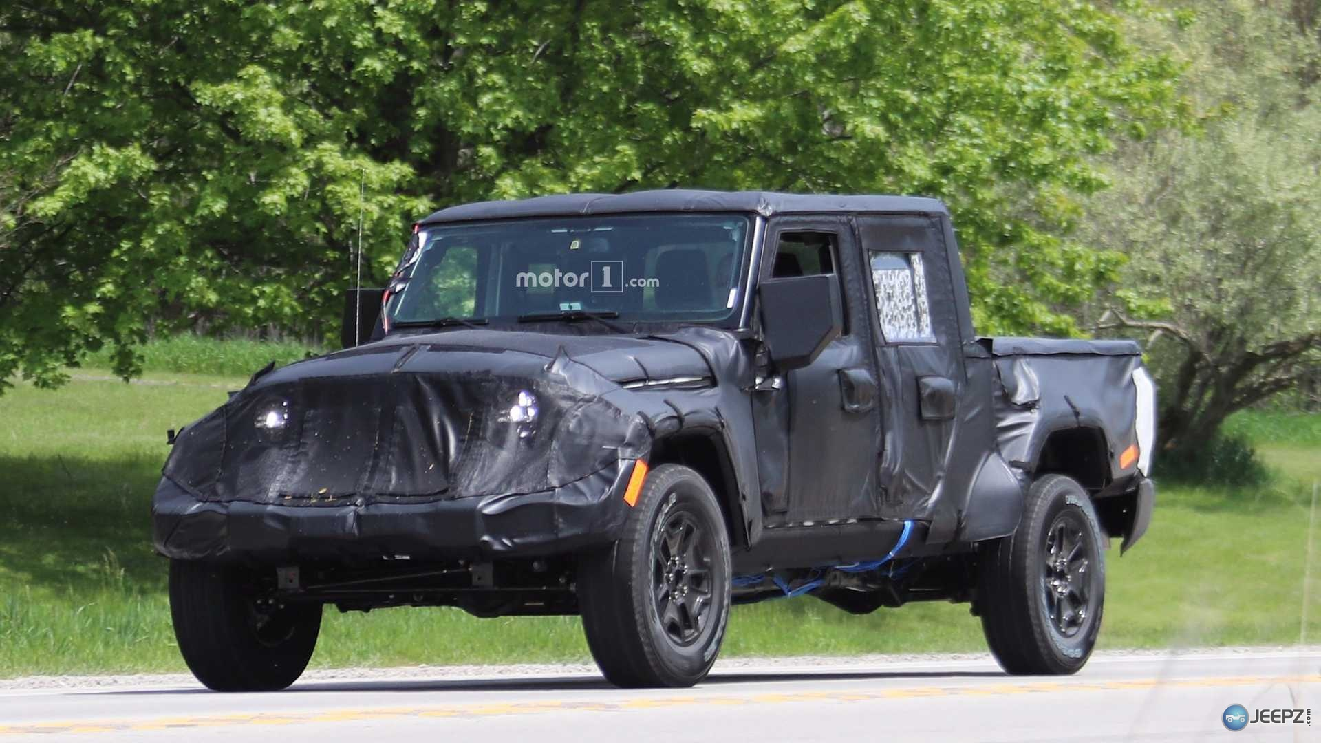 Is This What The New 2019 Jeep Wrangler Pickup Truck Will