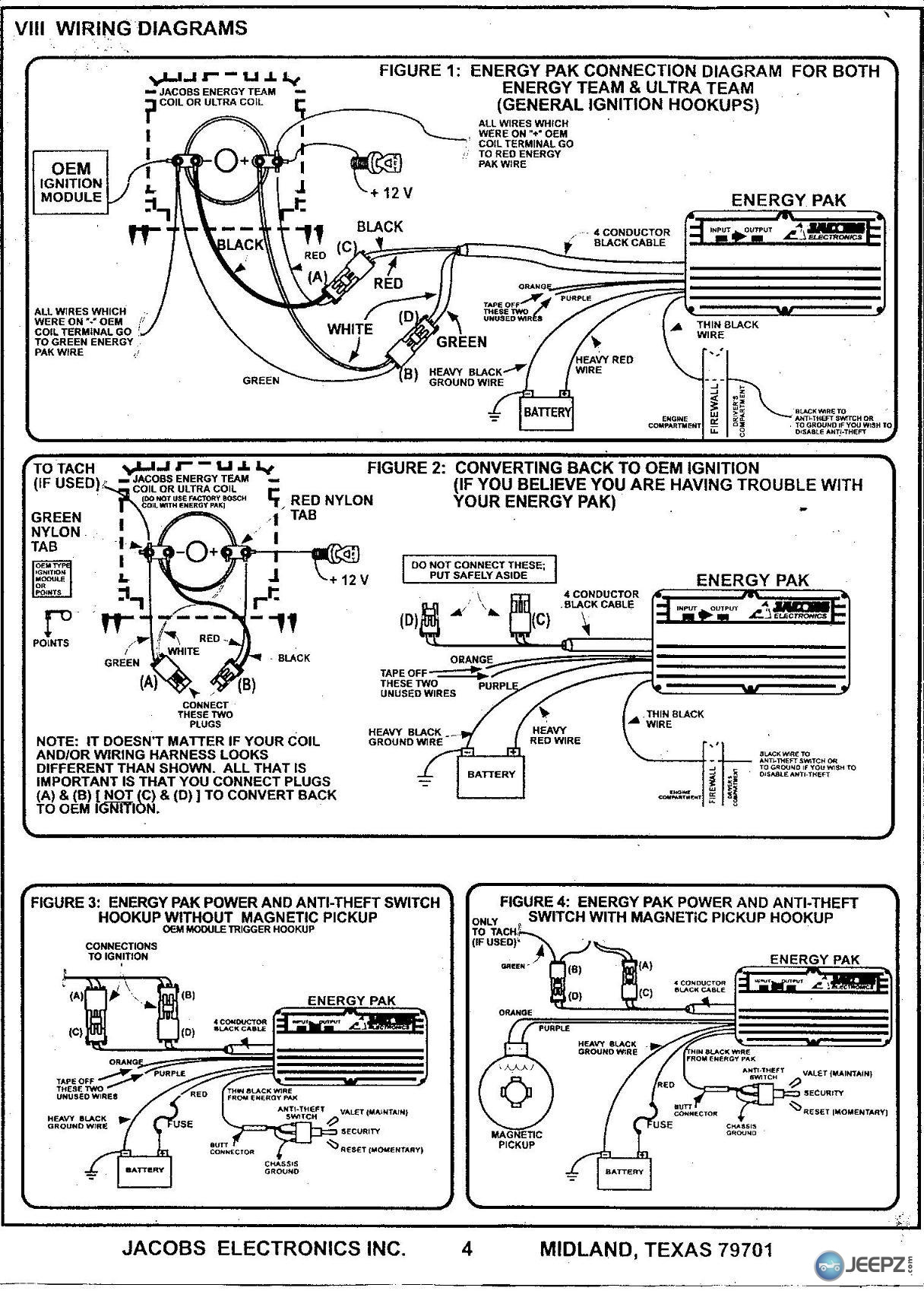 Jacobs Electronics Ignition System Wiring - Wiring Diagram M2 on