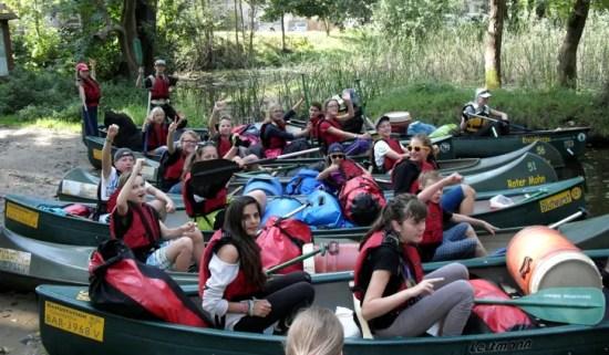 Kanutour Klassenstufe 7 – Angara