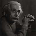 Albert Einstein, our inspiration.