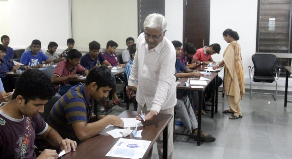 Origami Workshop - IIT Gandhinagar (2)