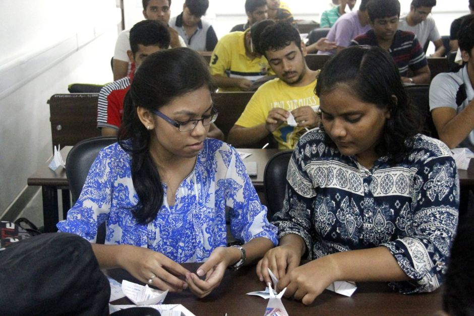 Origami Workshop - IIT Gandhinagar (5)