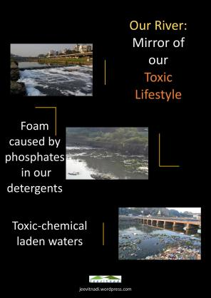 Rivers are Mirror of our Toxic Lifestyle