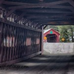 New England Photography of Station covered bridge