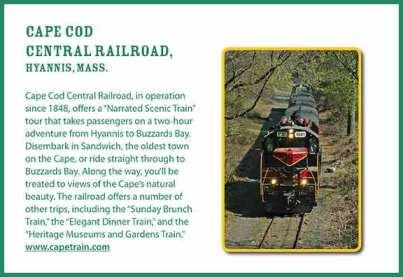 Cape Cod Scenic train