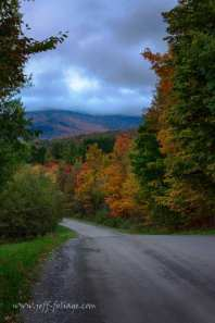 Fall foliage view from Hazen's Notch