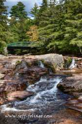 Jackson falls or wildcat falls above Jackson NH