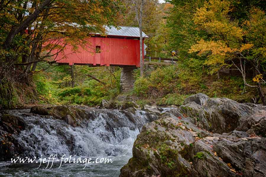 Slaughterhouse Vermont covered bridge