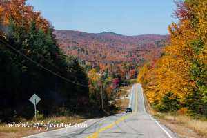 leaving Errol New Hampshire along Route 16.