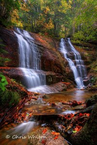 Autumn makes waterfalls a location to shoot for.  From bridal falls to Kinsman notch. you can visit Beaver Brook Cascades and Little Hellgate Falls are great  water falls in fall.