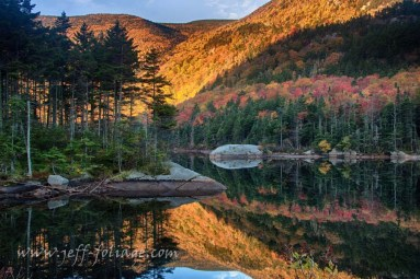 Fall colors in 2012 at the beaver pond in New Hampshire, #Vistaphotography #JeffFolger