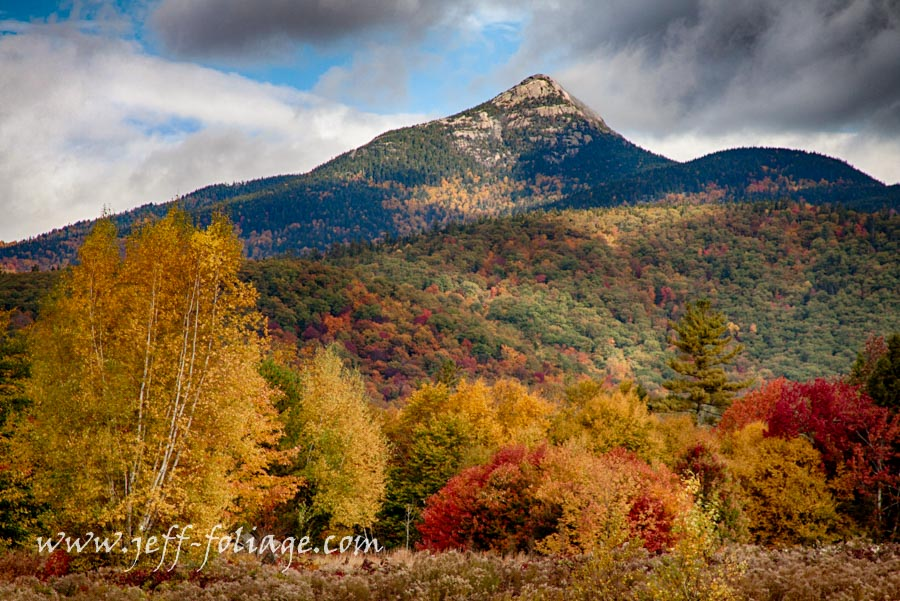 fall colors around Tamworth New Hampshire