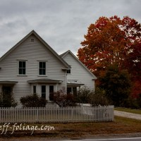 Robert Frost locations for autumn drives