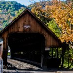 A Vermont scenic drive takes you past the Woodstock covered bridge