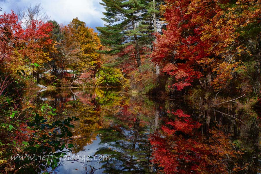 lots of fall reflections, New England Photography