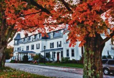 Inn at Sunset Hill in autumn