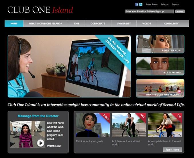 Screenshot: Club One Island