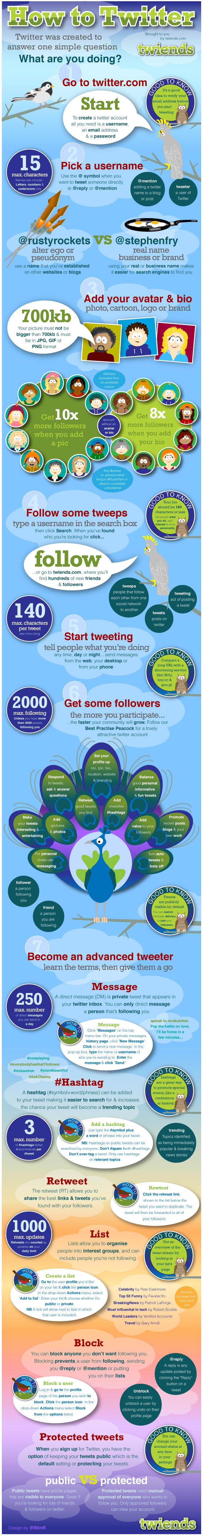 Twitter Marketing Infographic