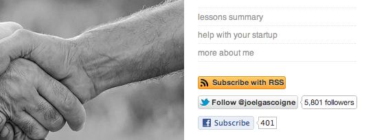 Twitter Follow and Facebook Subscribe WordPress Plugin
