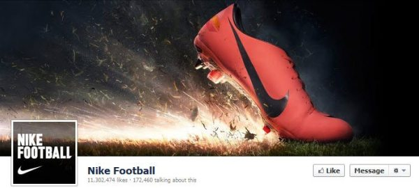 Facebook Nike Football
