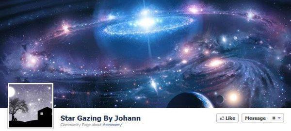 Facebook observar las estrellas