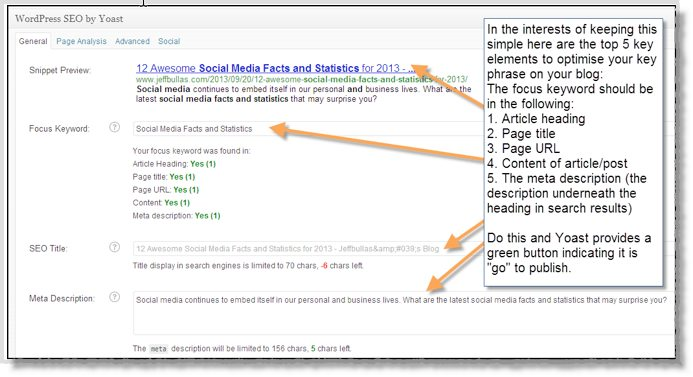 Optimize content for search engines