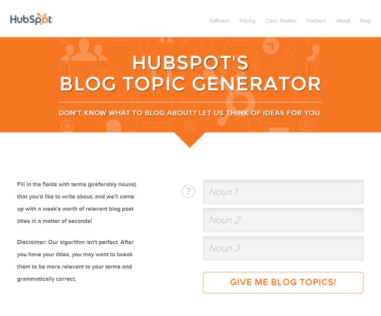 Generating New Article Topics – Once Hard, Now Easy 1