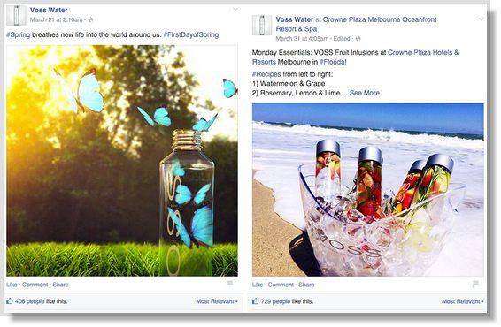 types of visual social media posts