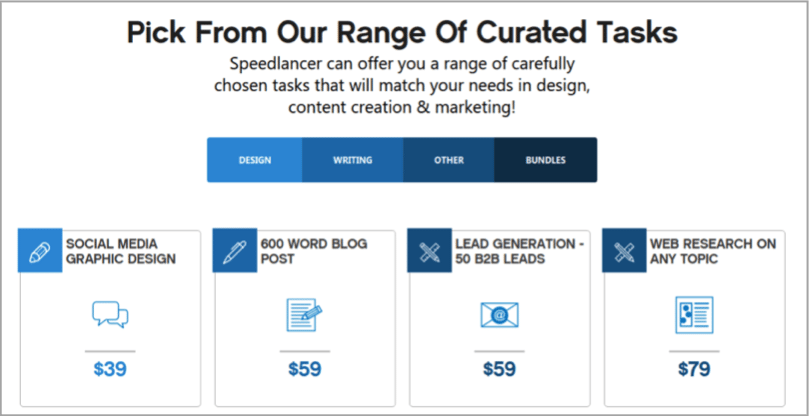 Speedlancer - tool for how to outsource your content creation