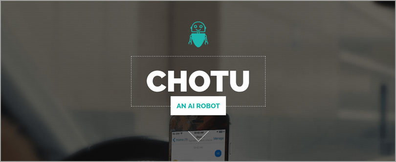 Chotu Bot for Facebook chatbots