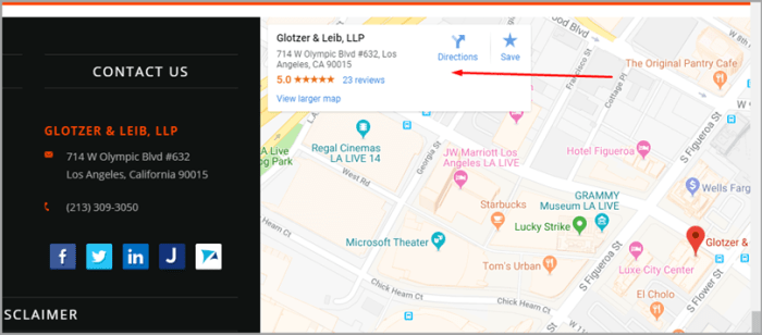 Make Finding Your Business Easy like Glotzer&Leib contact for content localization