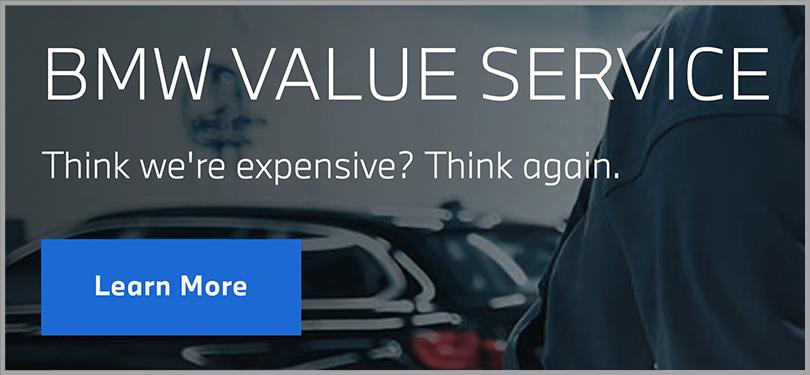 BMW Value Service Persuasive Copywriting